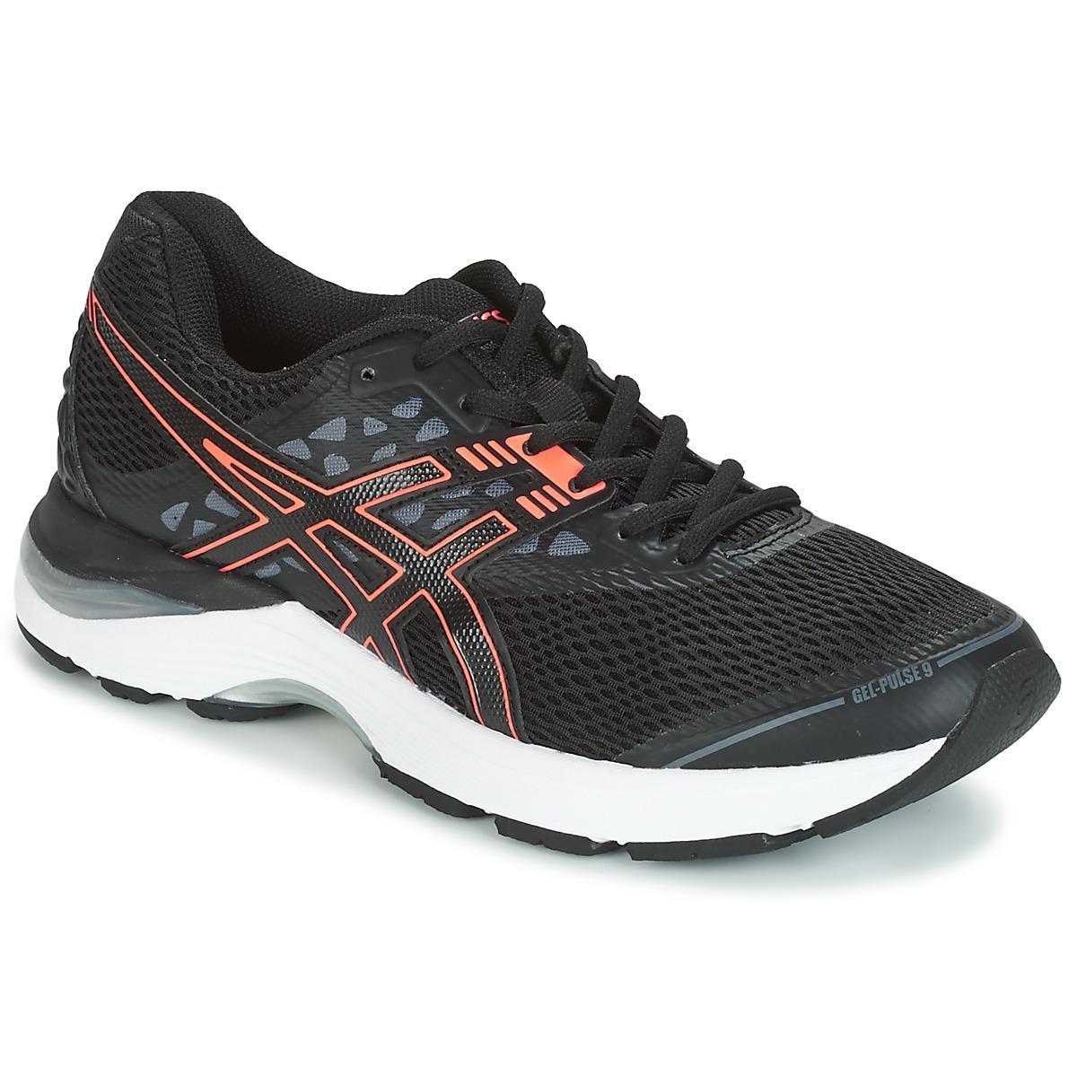 25298dc0cb2c Asics Gel-pulse 9 Women s Running Trainers In Black in Black for Men ...
