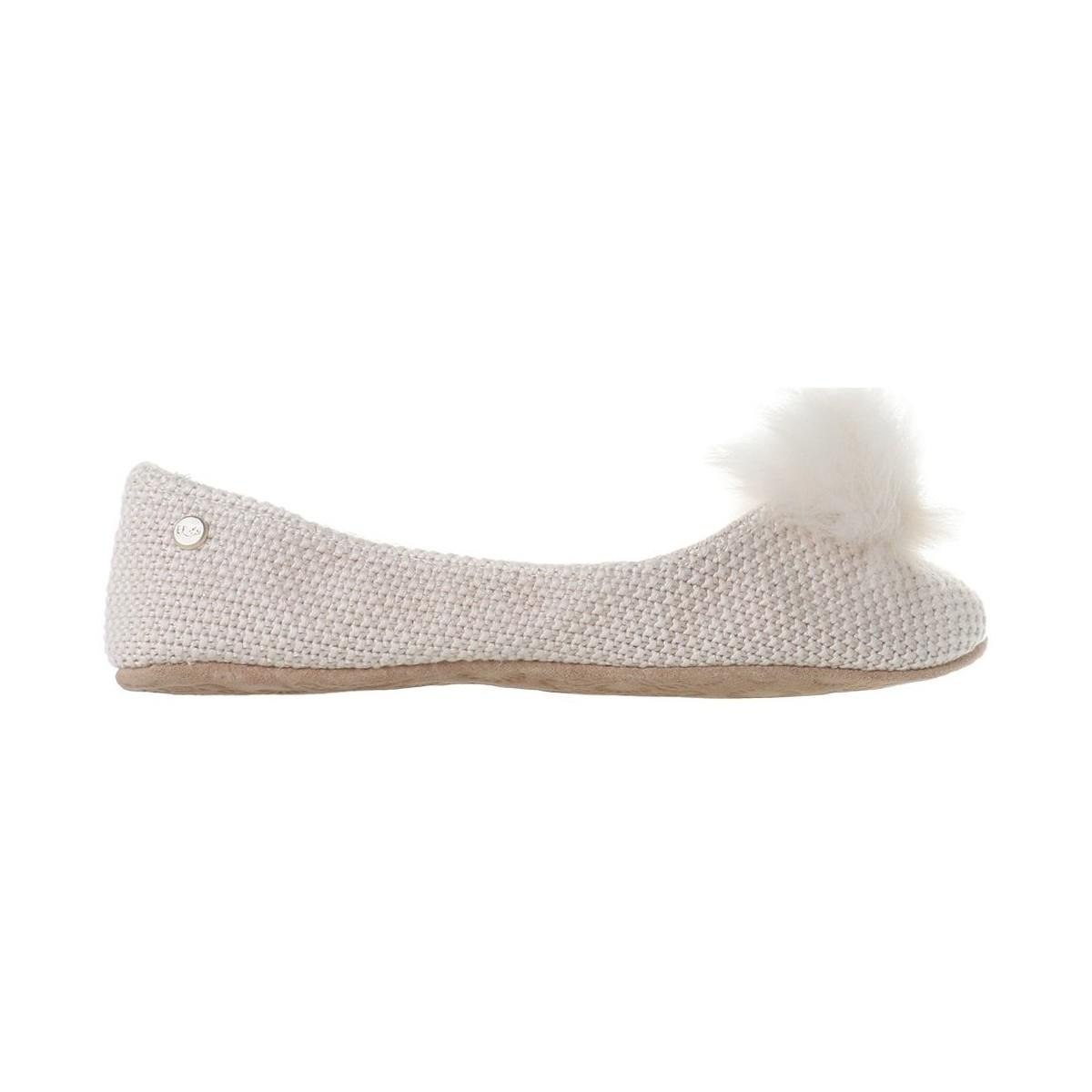 4e1a2bf60cb Ugg Andi Cream Women s Shoes (pumps   Ballerinas) In Beige in ...