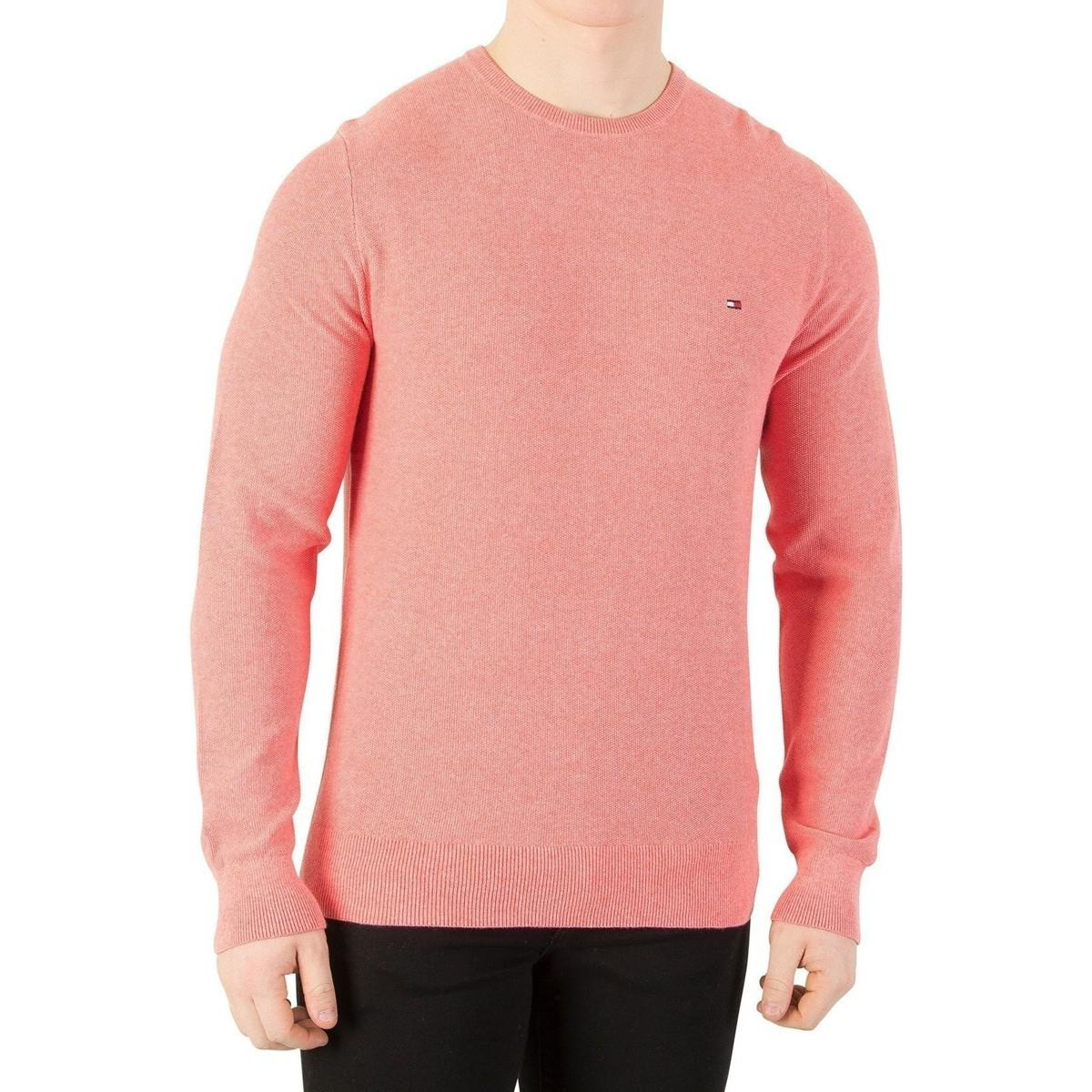 Wholesale Price For Sale Cheap Sale Countdown Package Mens Pre-Twisted Ricecorn Cneck Jumper Tommy Hilfiger uYgeR0MGg4
