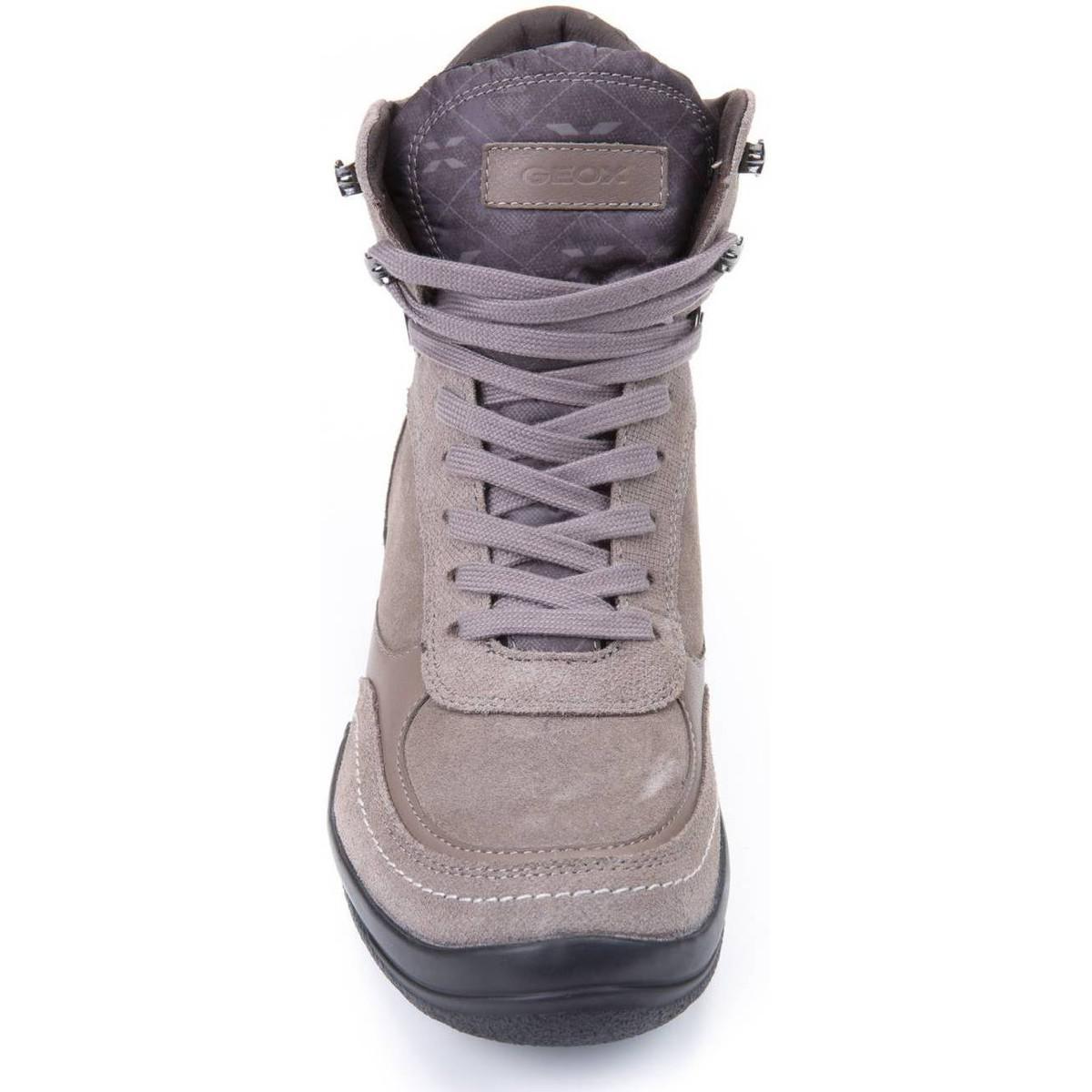 e675bb9ab2f Geox D640tb 0bs22 Trekking Shoes Women Beige Women's Trainers In ...