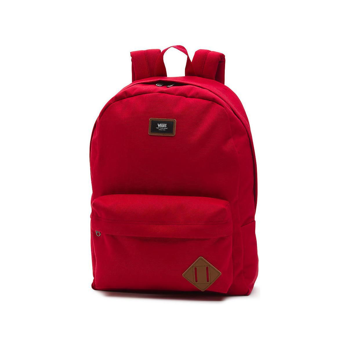Vans Mochila Old Skool Schuhe Women's Backpack In Red in Red - Lyst