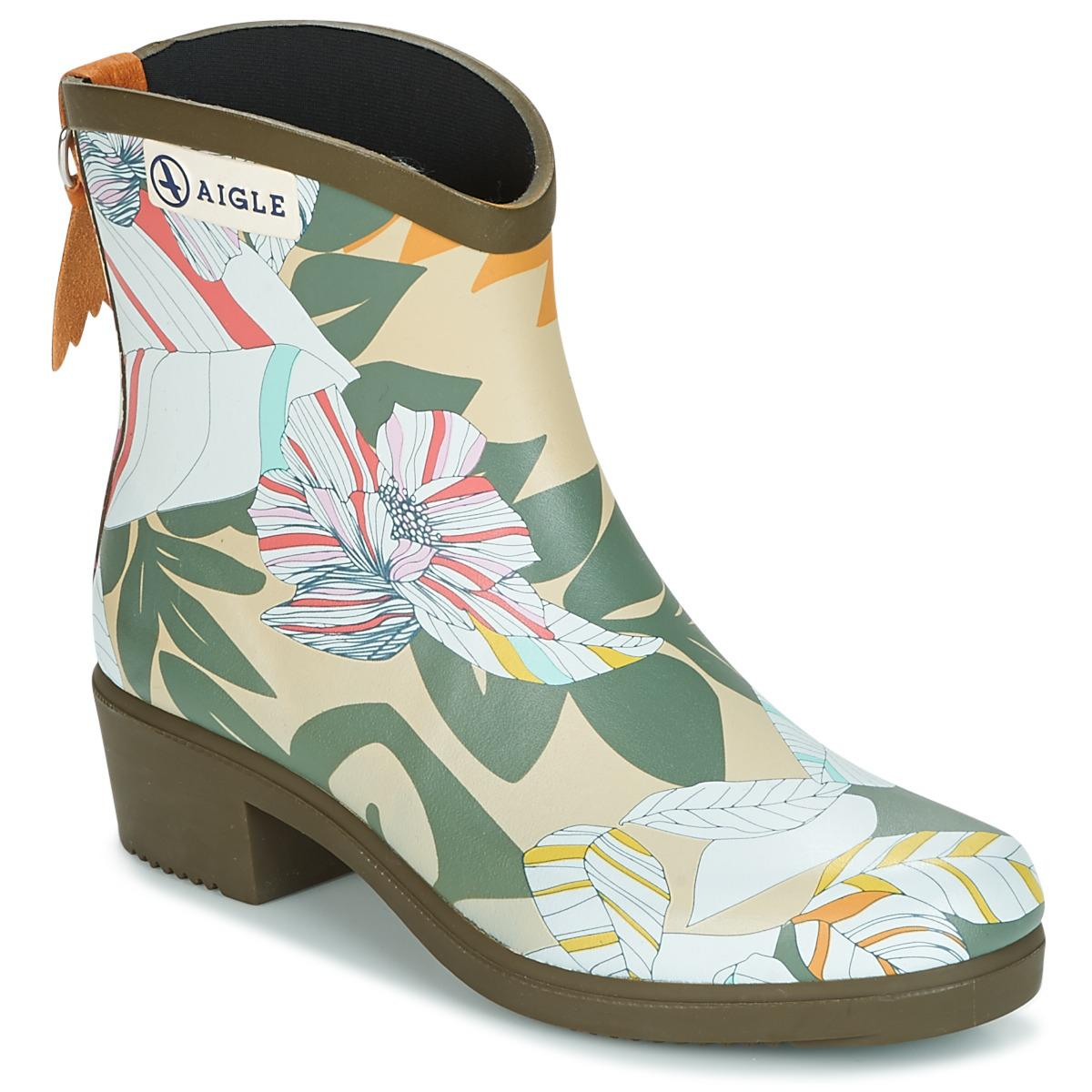 Clearance Real Aigle MISS JULIETTE BOTTILLON PRINT women's Wellington Boots in Wiki Cheap Price Outlet Sast Fashion Style Cheap Online W562sQyHKa