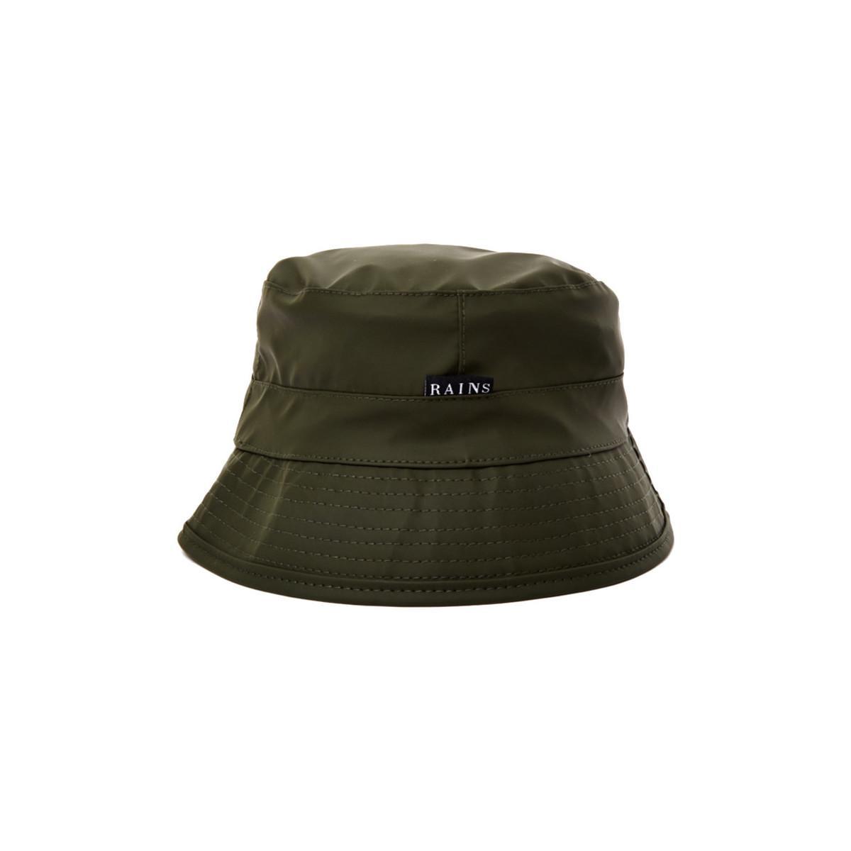 e5b8c0f1514 Rains Bucket Hat Green Men s Hat In Green in Green for Men - Lyst