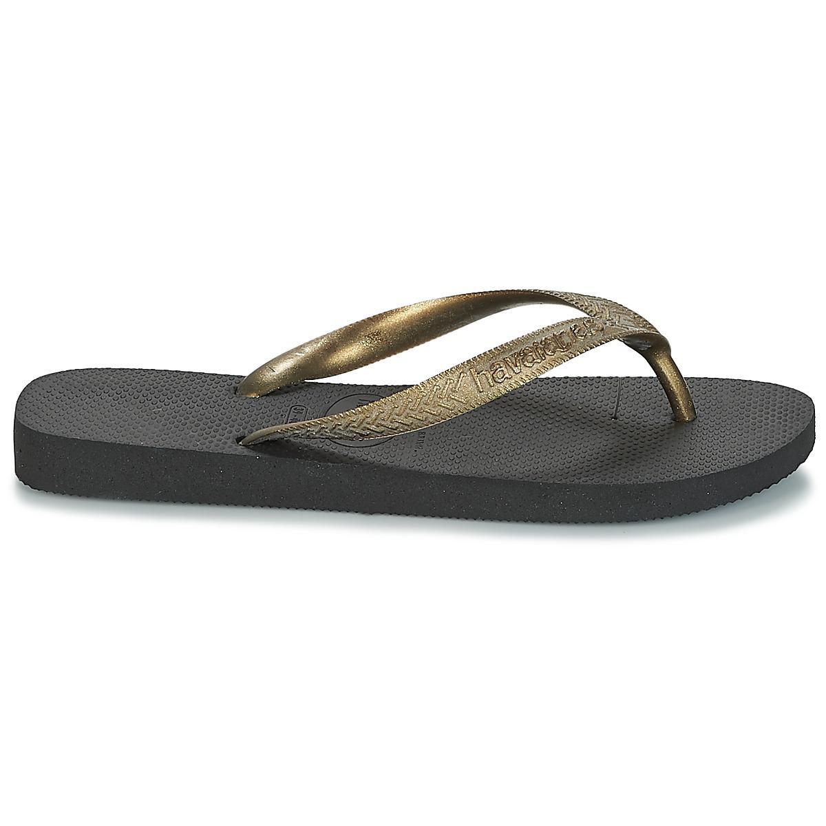 10b9e7b445a2 Havaianas Top Logo Metallic Women s Flip Flops   Sandals (shoes) In ...