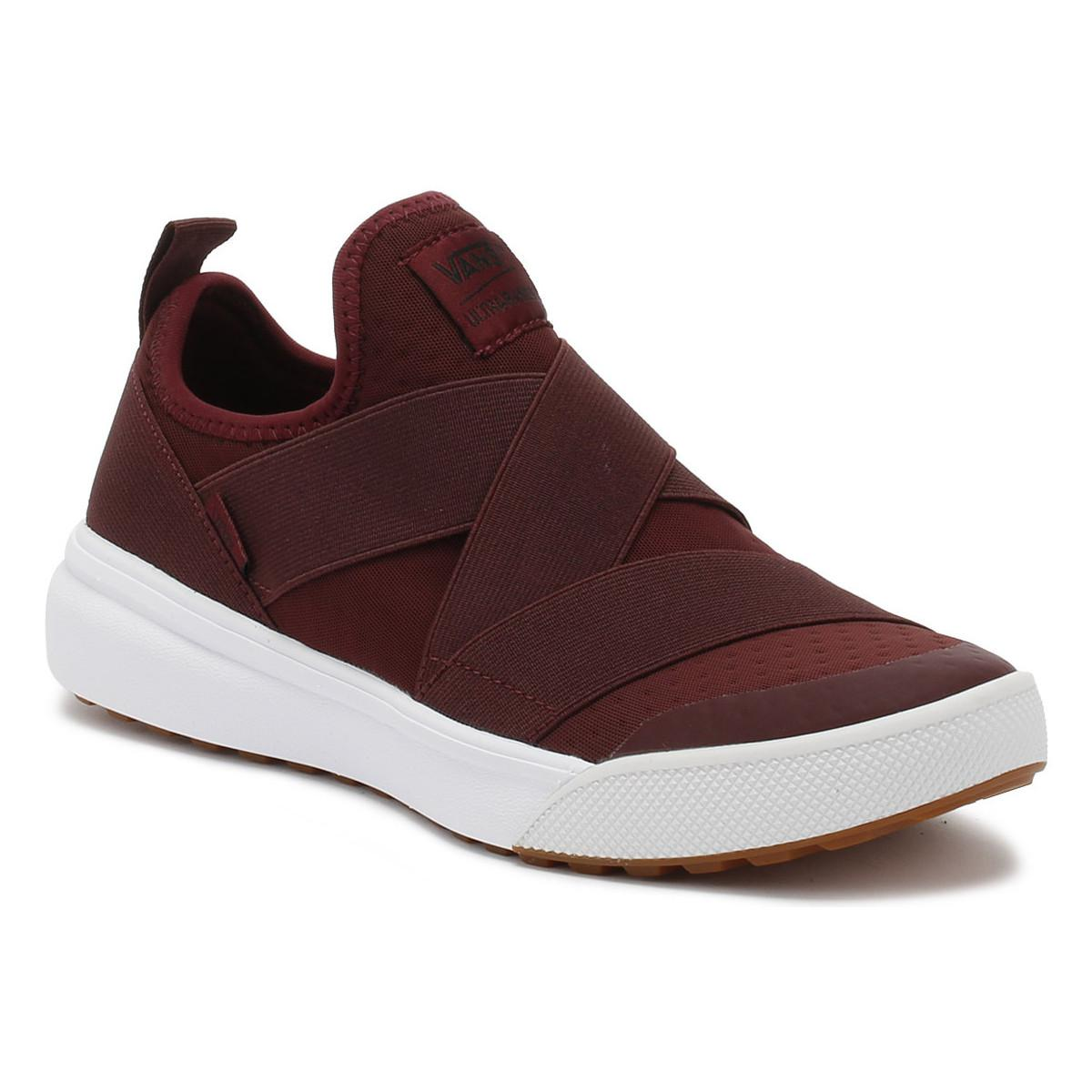 Vans. Port Royale Burgundy Ultrarange Gore Trainers Women s Slip-ons (shoes)  In Red 92d174e1d