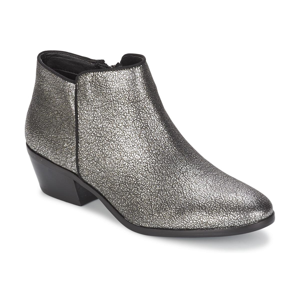 a3c714bb74b4 Sam Edelman Petty Women s Low Ankle Boots In Silver in Metallic - Lyst