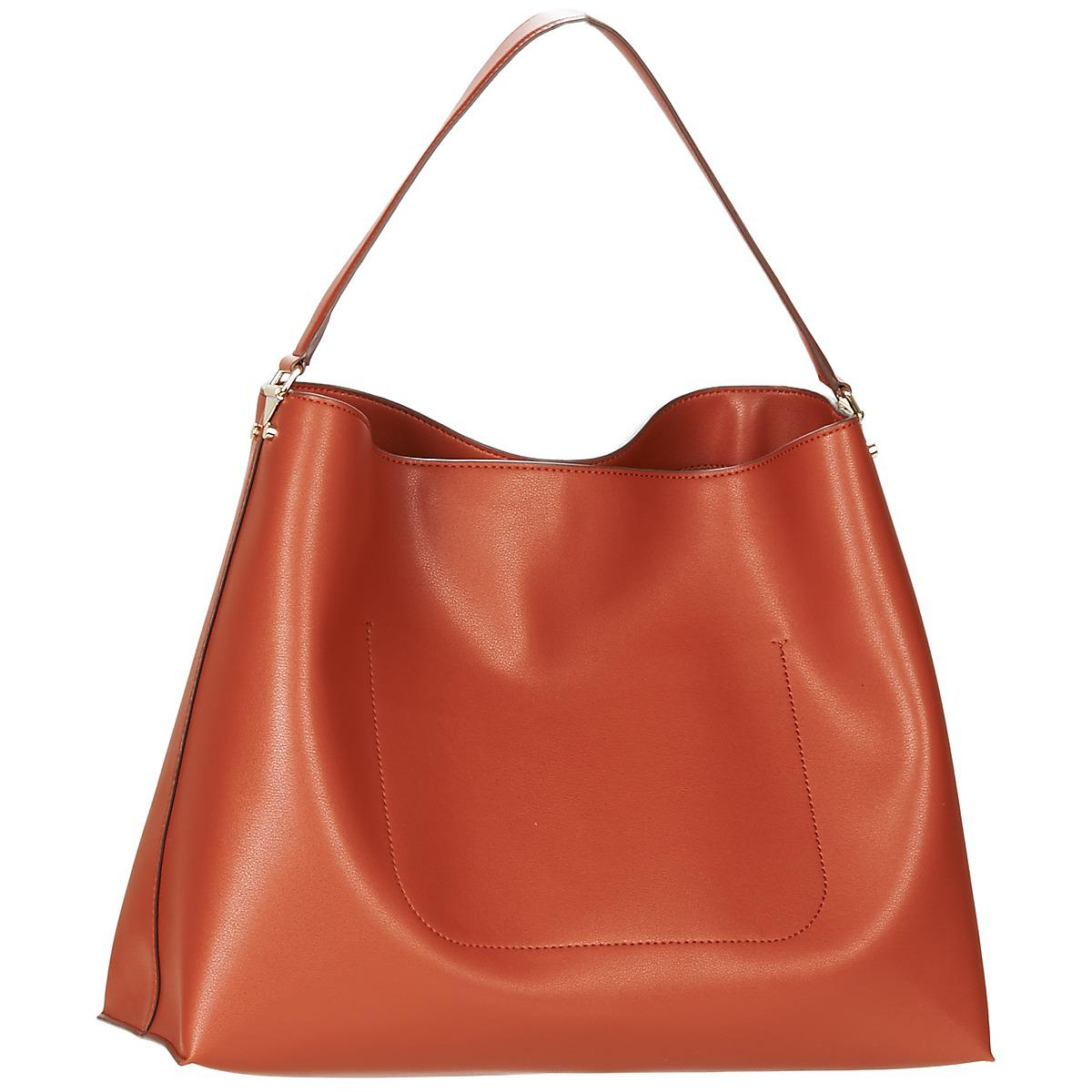 Emporio Armani Nellie Hobo Women s Shoulder Bag In Beige in Natural ... 554ea8c33c9b8