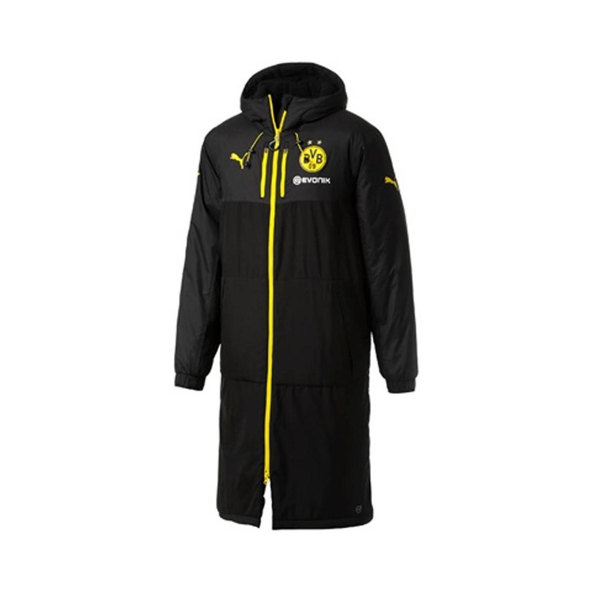 d154cd4f73da PUMA 2017-2018 Borussia Dortmund Long Bench Jacket Men s Jacket In ...