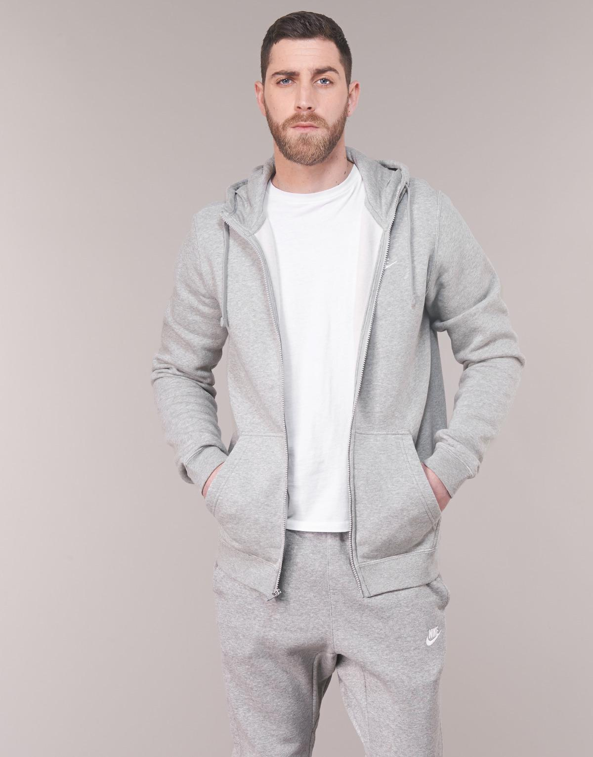 aca6e35d Nike Men's Sportswear Hoodie Sweatshirt in Gray for Men - Lyst