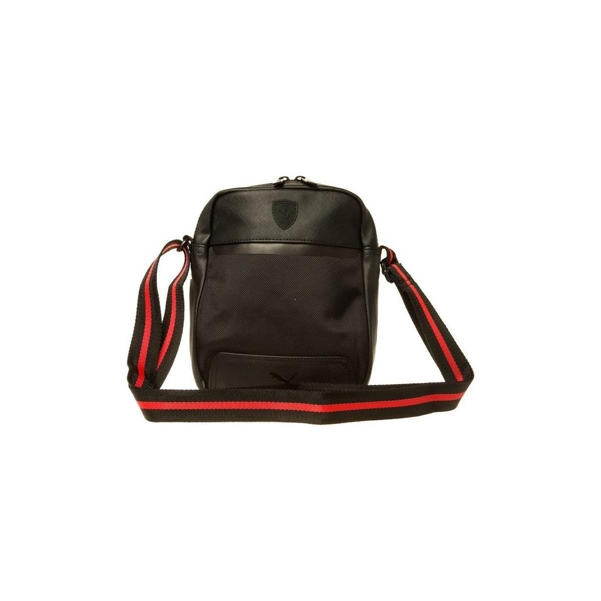 PUMA Ferrari Ls Portable Men s Shoulder Bag In Black in Black for ... e40d01bf5bbb0