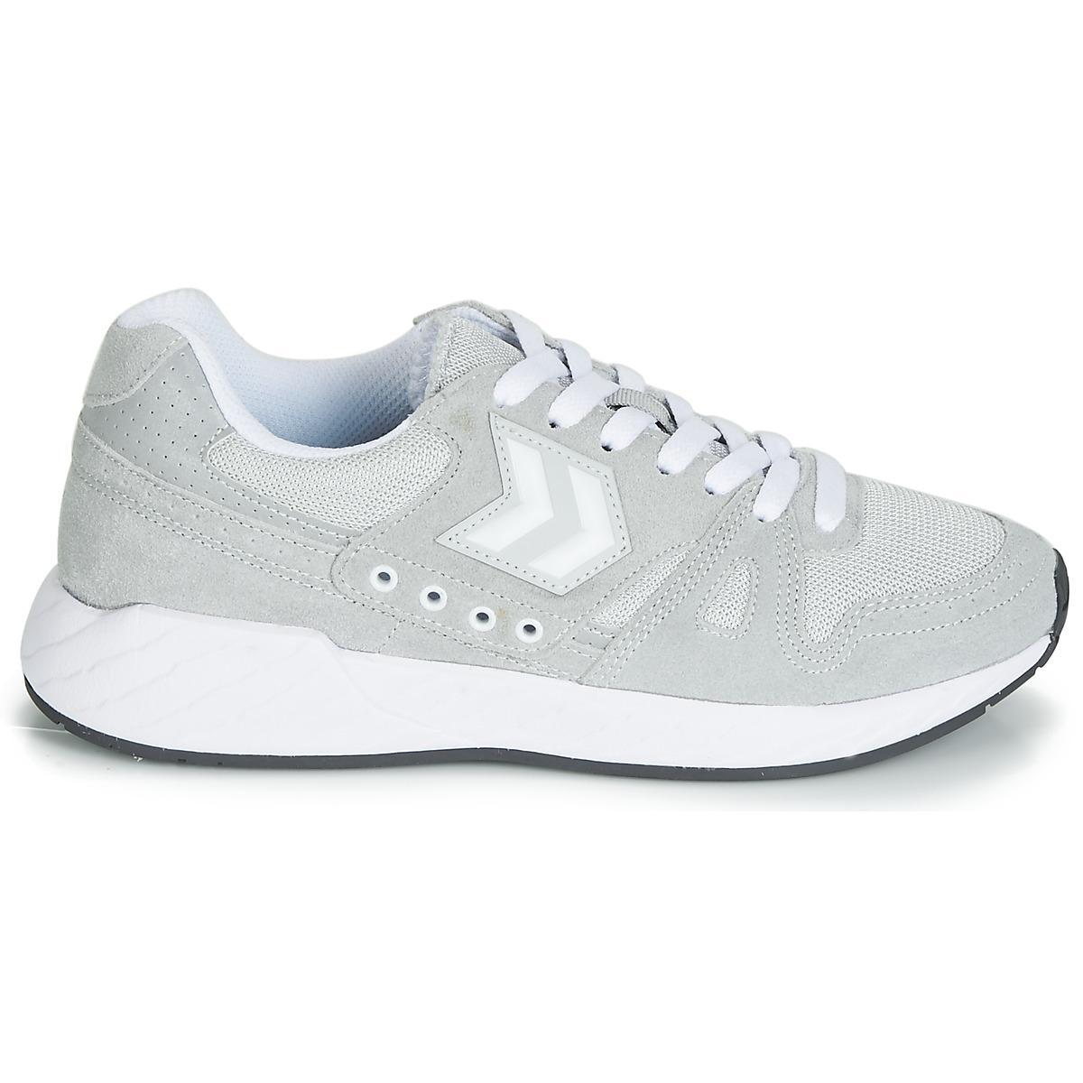 96d704dc116b Hummel - Gray Legend Marathona Men s Shoes (trainers) In Grey for Men -  Lyst. View fullscreen