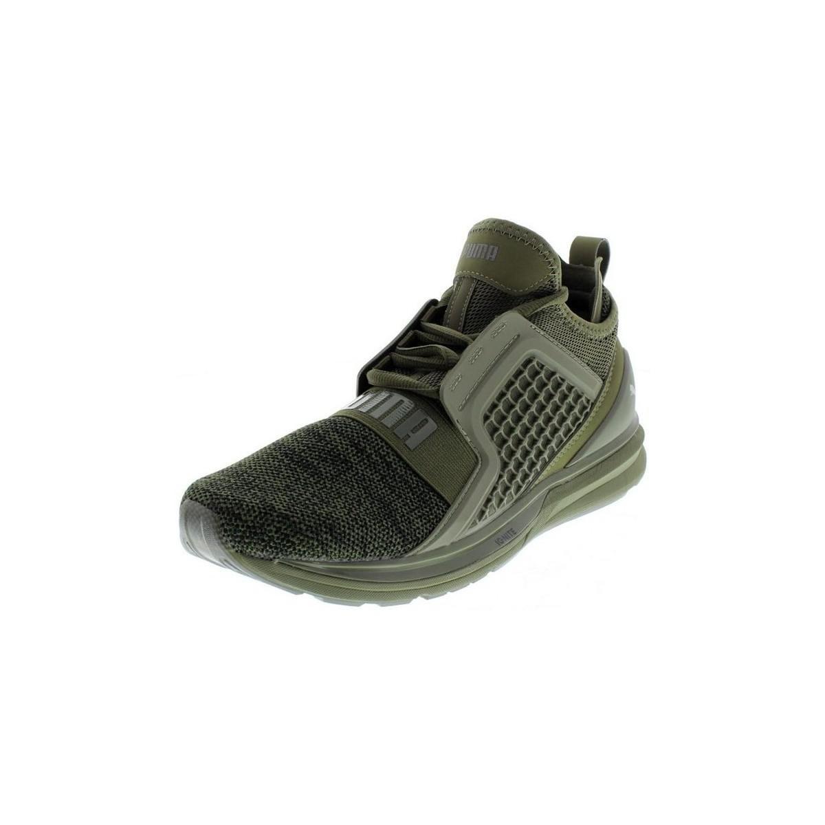 78f94671e880 Puma Ignite Men s Shoes (high-top Trainers) In Multicolour in Green ...