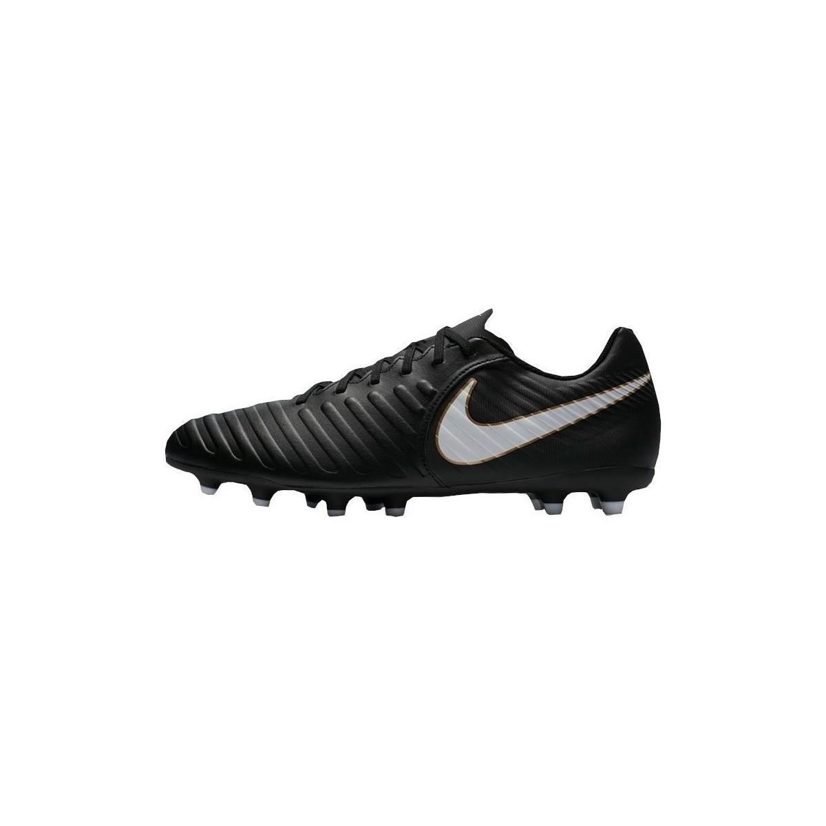 fbd7b4f64abd Nike Tiempo Rio Iv Fg Men's Football Boots In Black in Black for Men ...