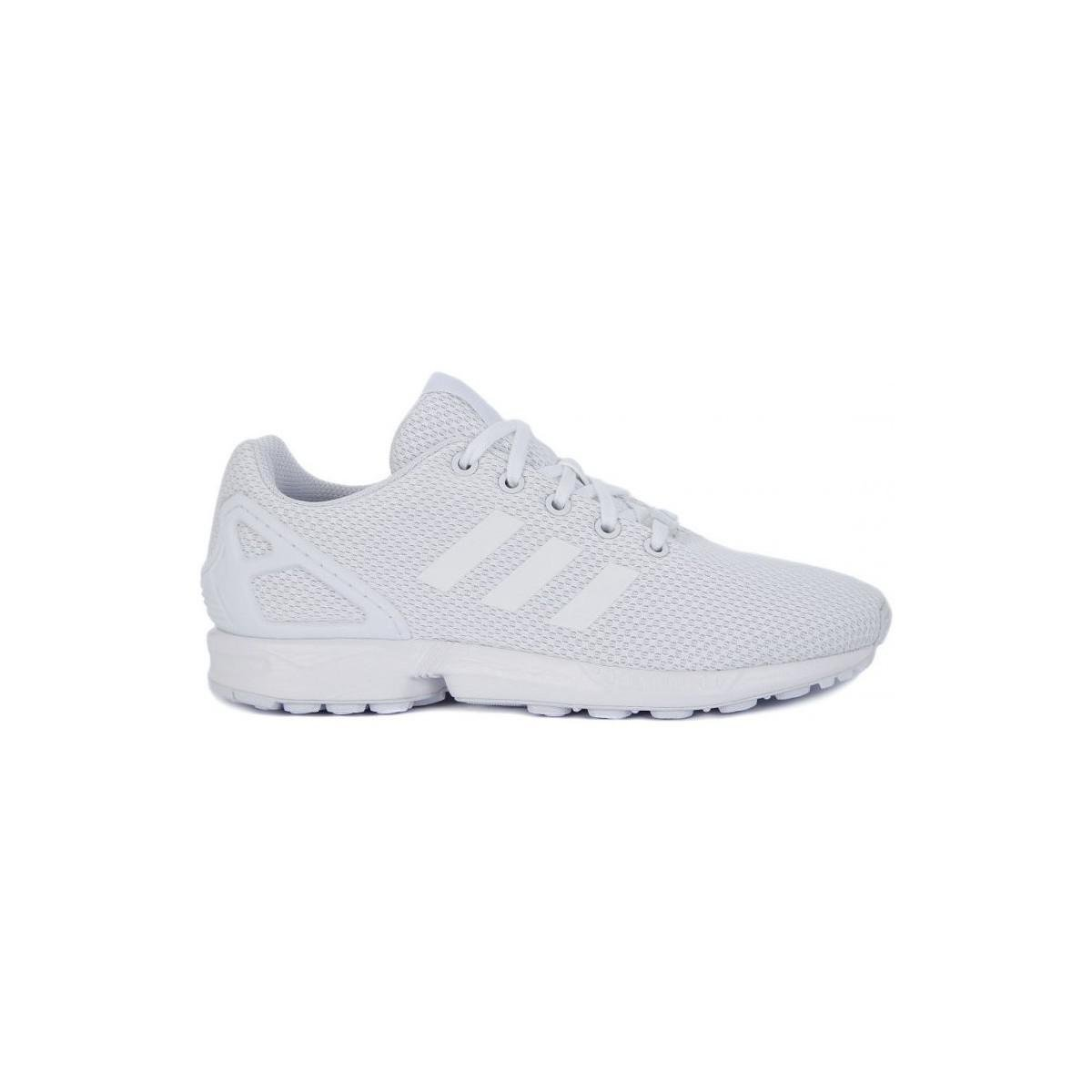 official photos 25151 3ae2c adidas Originals Zx Flux J Women s Shoes (trainers) In Grey in Gray ...