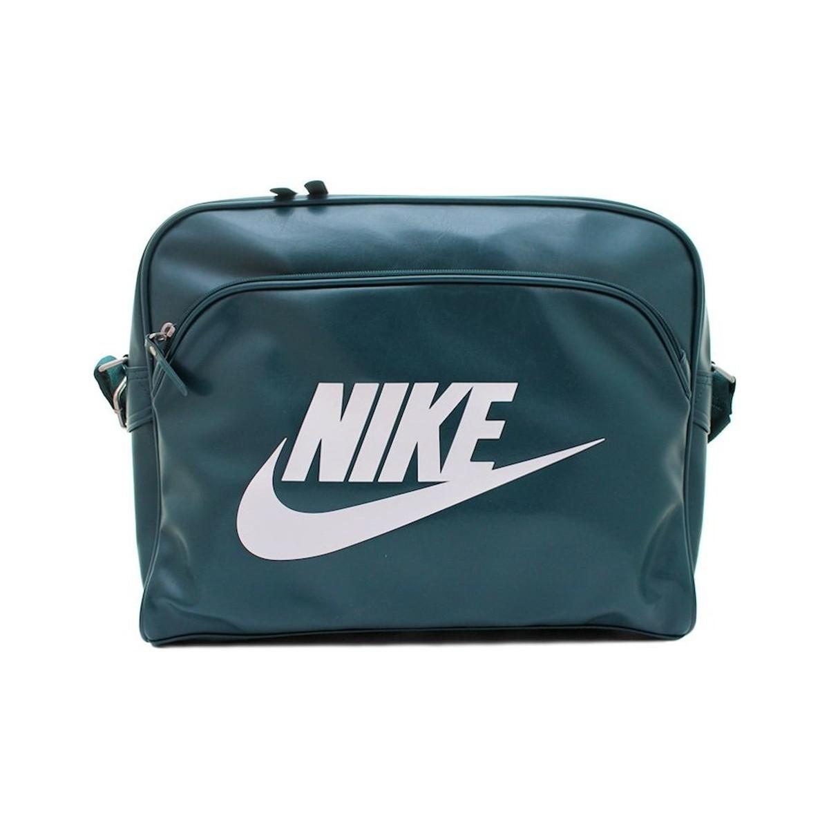 Nike Heritage Si Track Men s Messenger Bag In Green in Green for Men ... 062fb000df414