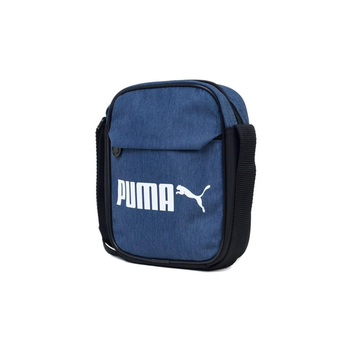 89dc249973 PUMA Campus Portable Woven Men s Messenger Bag In Blue in Blue for ...