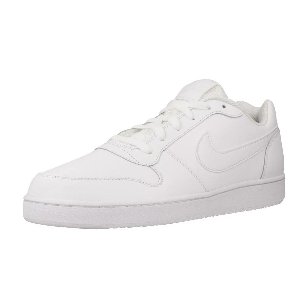 2c4240bdd4 Nike Ebernon Low Men s Shoes (trainers) In White in White for Men - Lyst