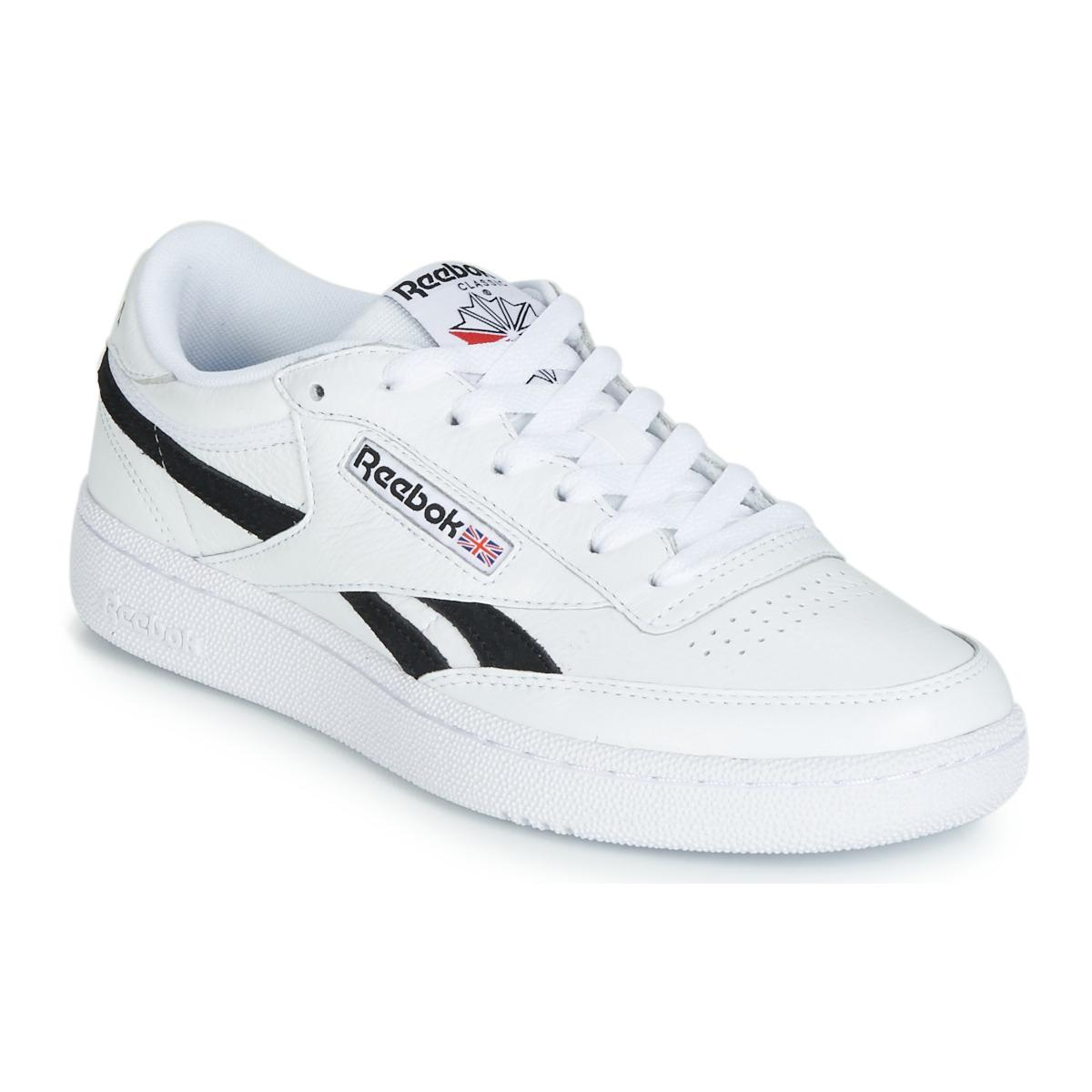 7d85831ec Reebok Revenge Plus Mu Men s Shoes (trainers) In White in White for ...