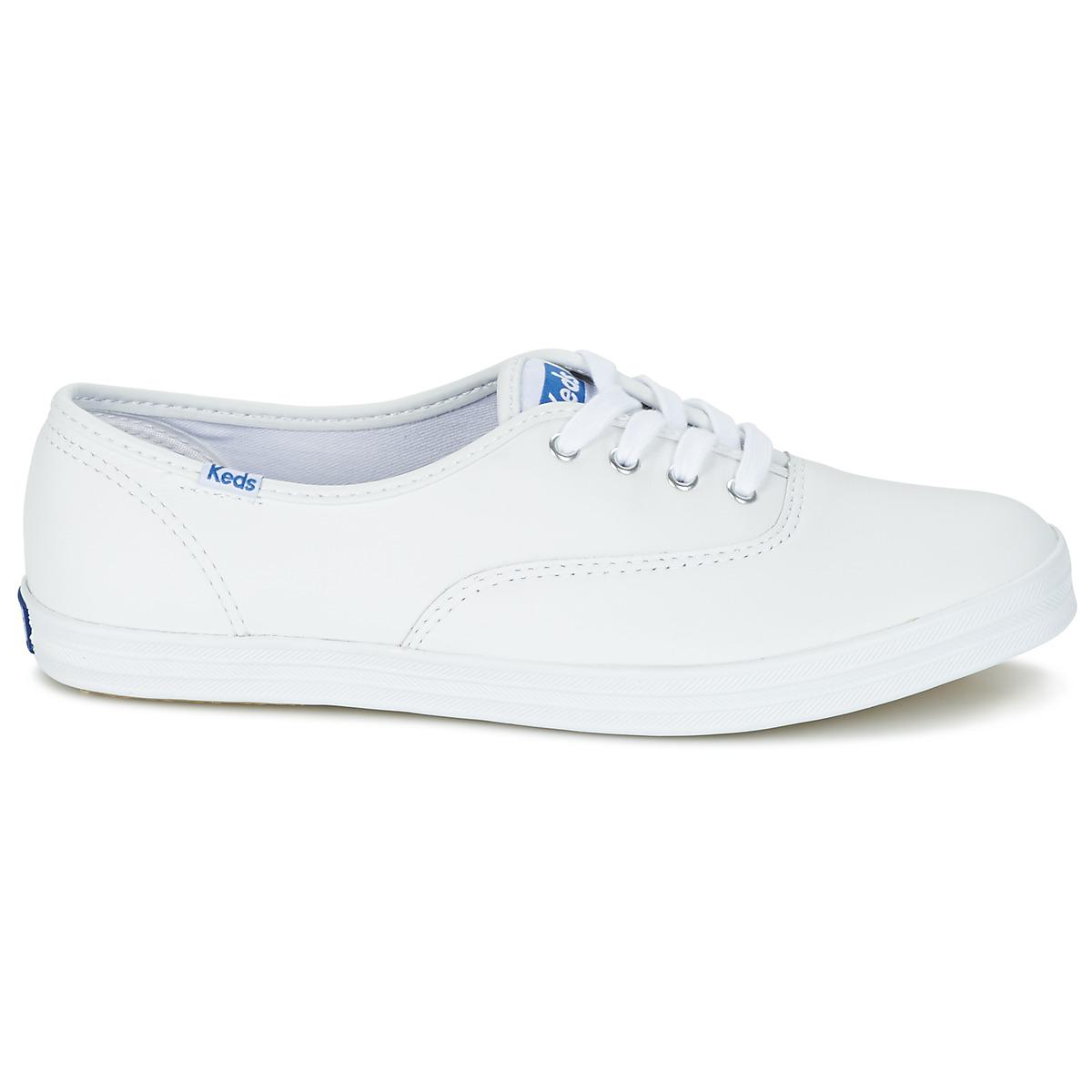 f8e7e5dc24097 Keds - Champion Cvo Women s Shoes (trainers) In White - Lyst. View  fullscreen