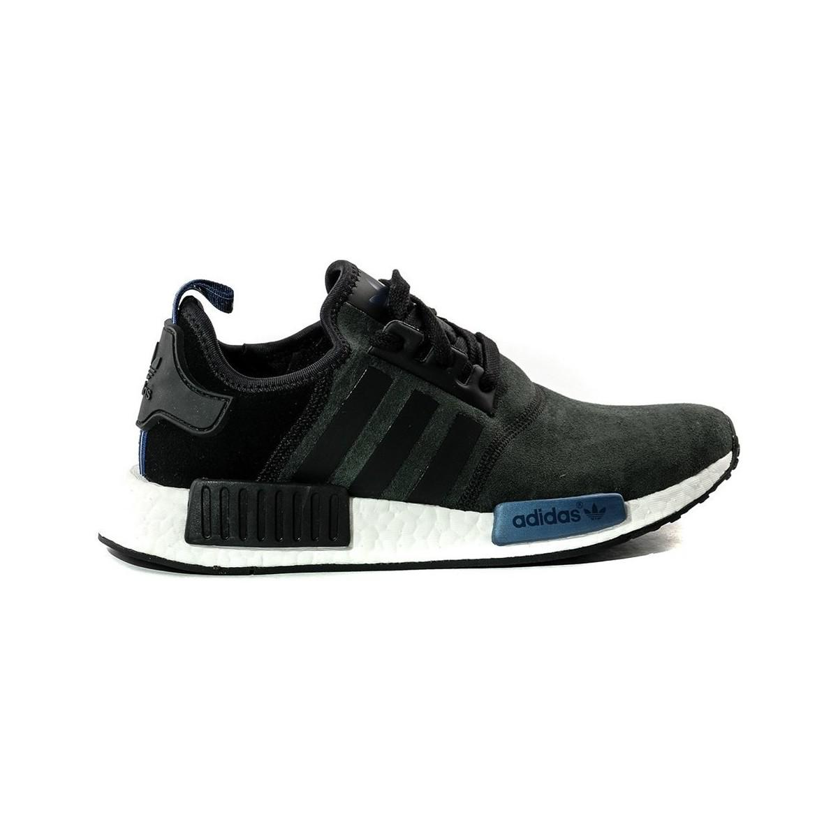bb9a81f080568 Adidas - Nmd R1 W Women s Shoes (trainers) In Black - Lyst. View Fullscreen