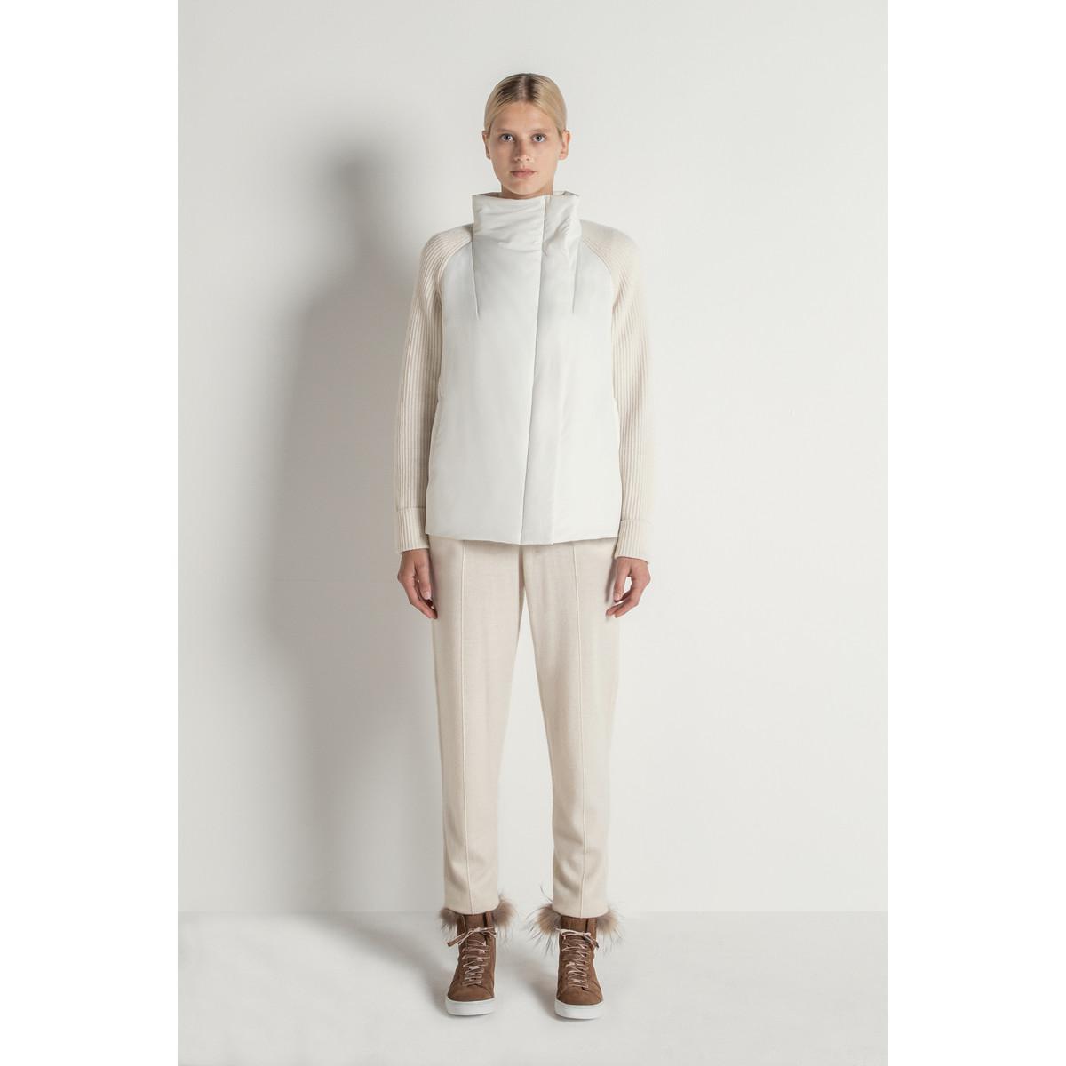 9d23fb93f3503 Max   Moi Bi-material Jacket