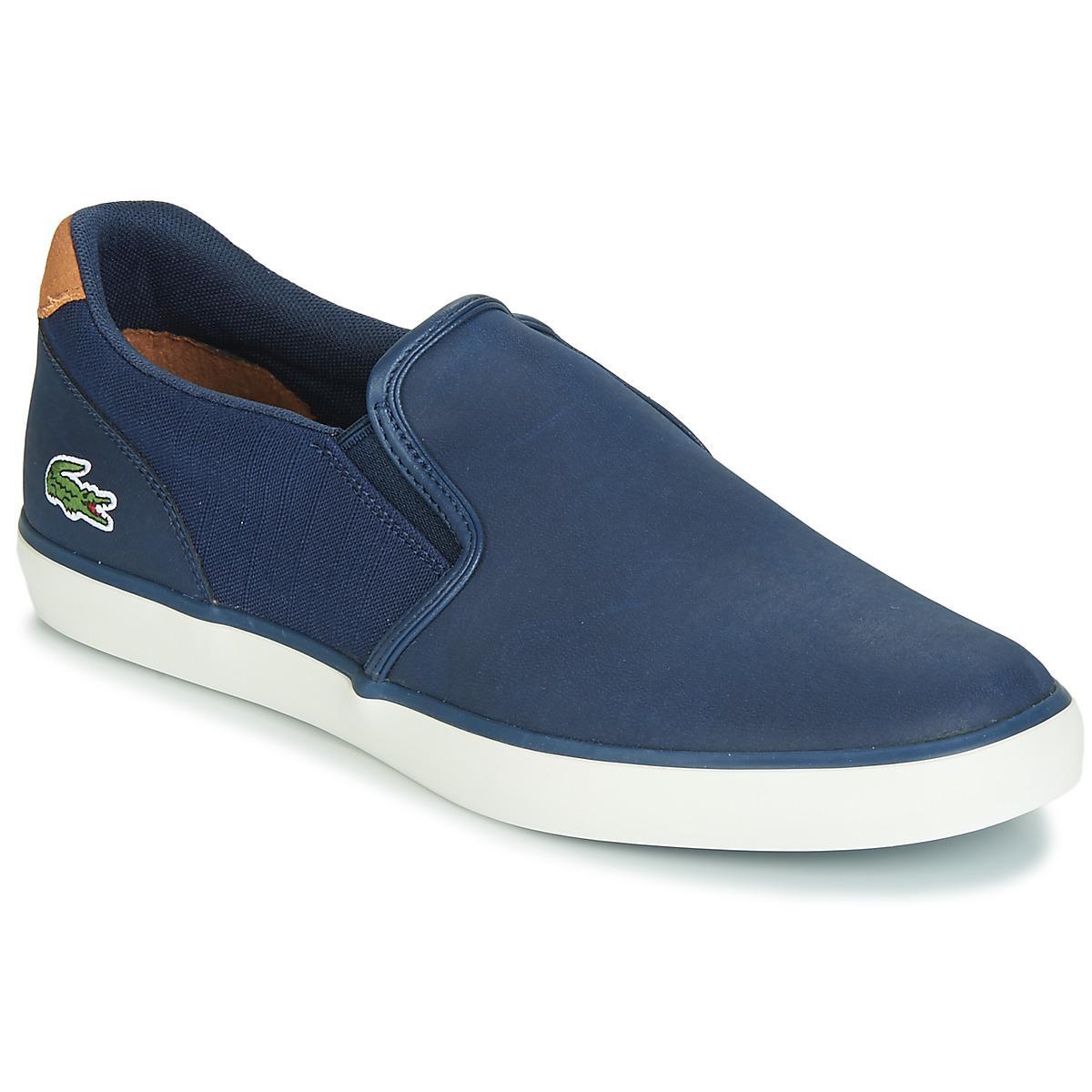 3386b6e77 Lacoste Jouer Slip 119 2 Men s Slip-ons (shoes) In Blue in Blue for ...