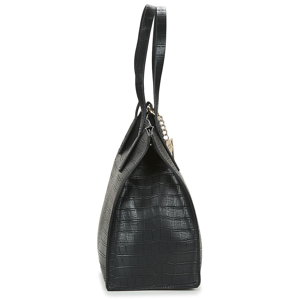 F0u7w Guess Carryall Women's Bag Lyst Kinley In Shopper Black qAx8zR