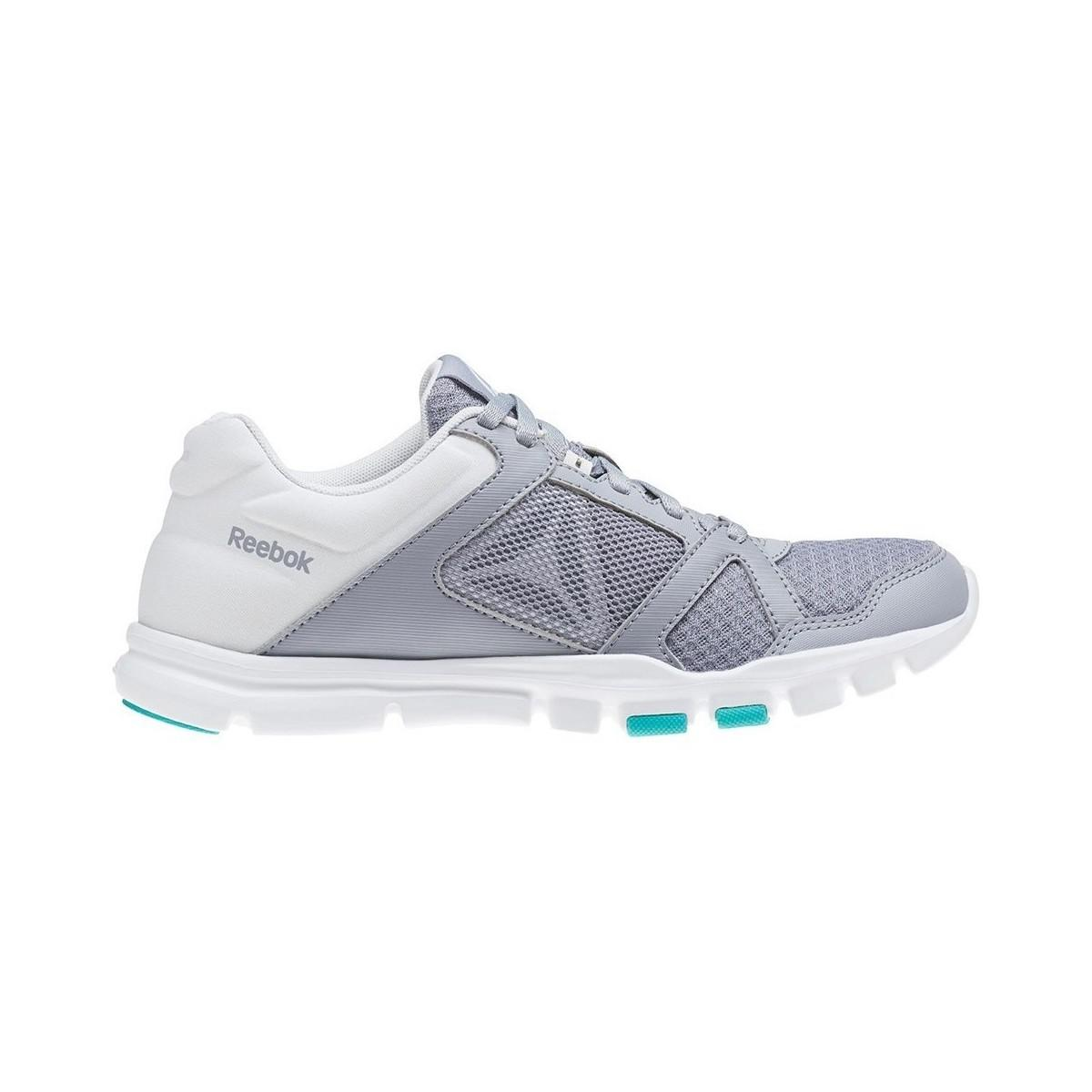 Reebok - Gray Yourflex Trainette 10 Mt Grey Women s Shoes (trainers) In  Grey -. View fullscreen 7cab8c94a