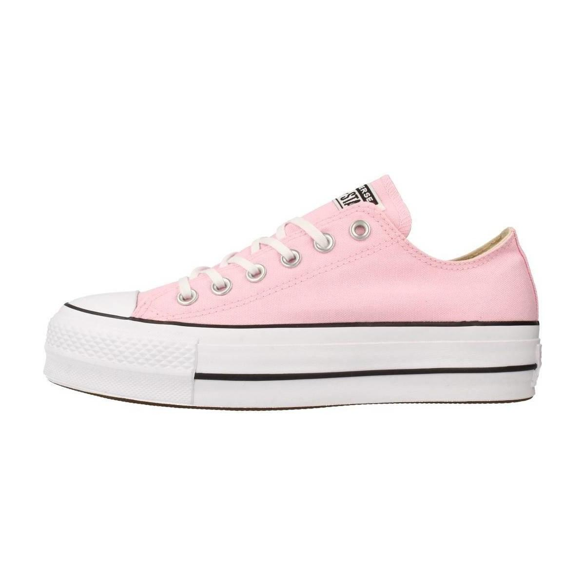 Converse Ctas Lift Ox Cherry Blossom Women s In Pink in Pink for Men ... 0c505a548