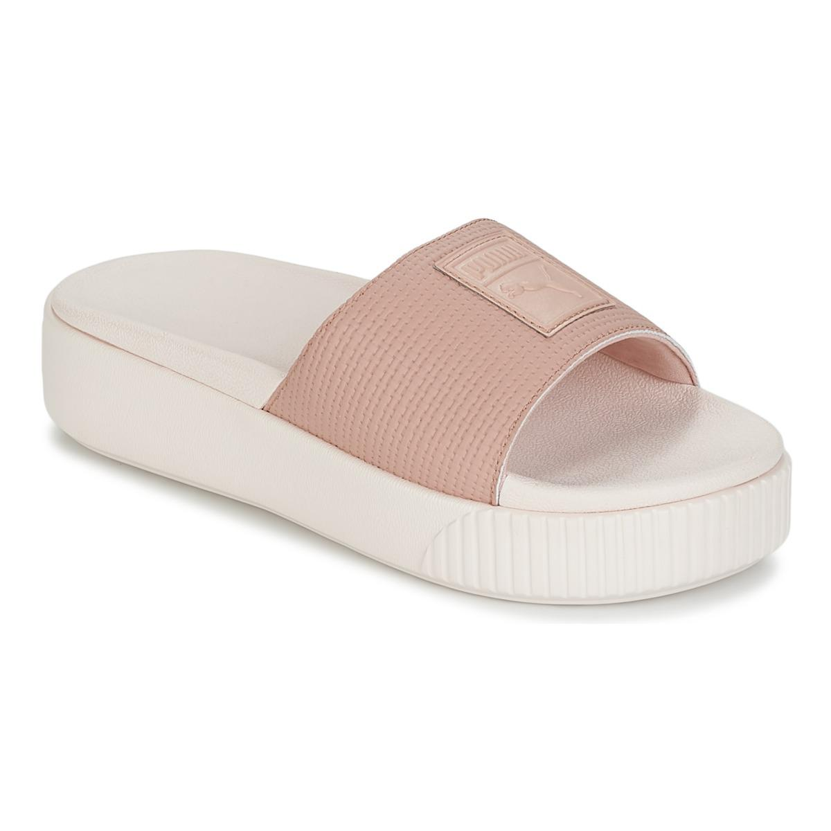 576406473ce PUMA Platform Slide Wns Ep Women s Mules   Casual Shoes In Pink in ...