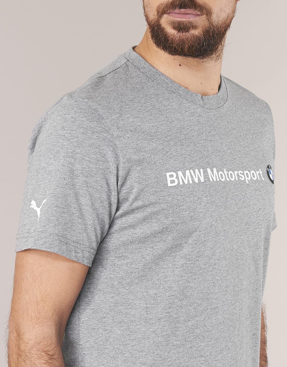 04287611 PUMA - Gray Bmw Msp Logo Tee T Shirt for Men - Lyst. View fullscreen