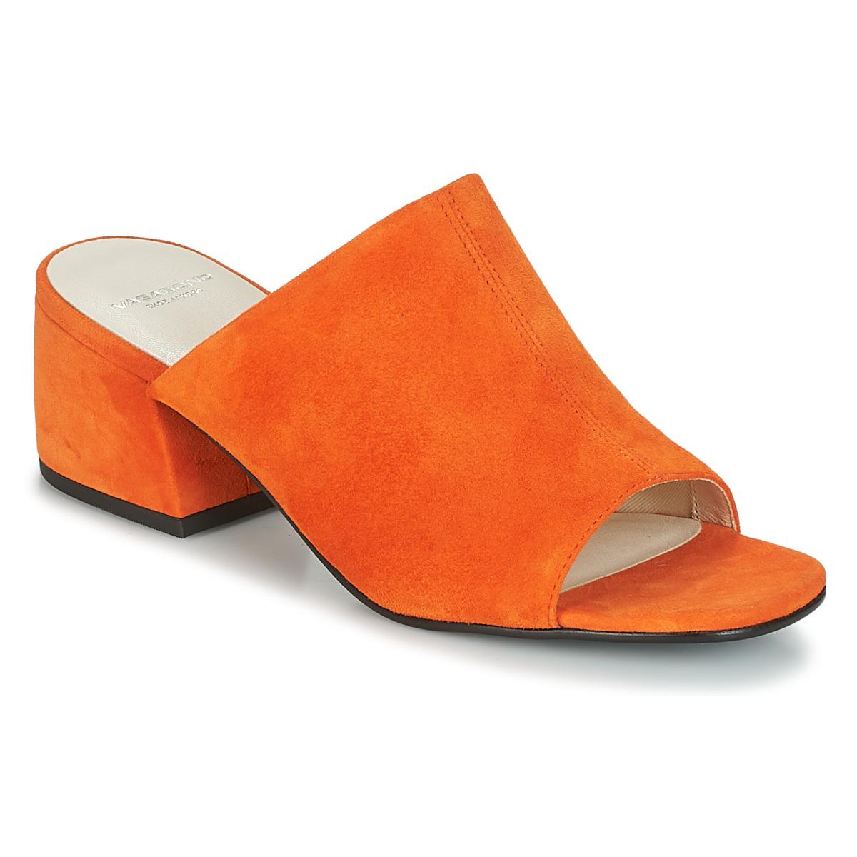 Vagabond Lyst Mules Orange In Saide Shoes Casual LzUVGSMqp