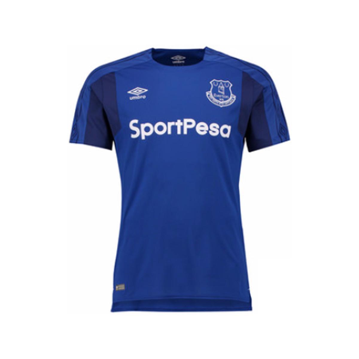 Everton Training Sweatshirt Dark Blue Mens Umbro Football