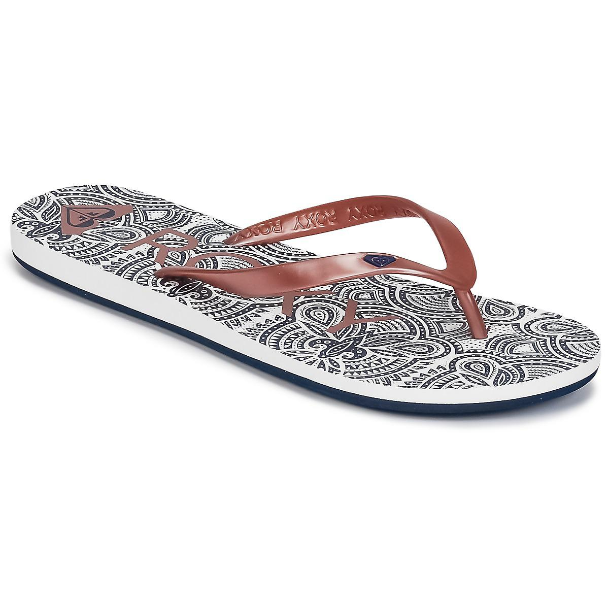 120752f4fd5f21 Roxy Tahiti Vi J Sndl Rsg Women s Flip Flops   Sandals (shoes) In ...