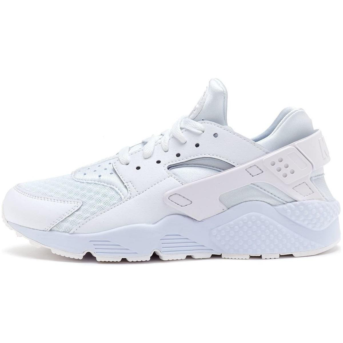 official photos 5d69f 072ef Nike. Air Huarache Trainers In White Pure Platinum 318429 111 Men s Shoes  ...