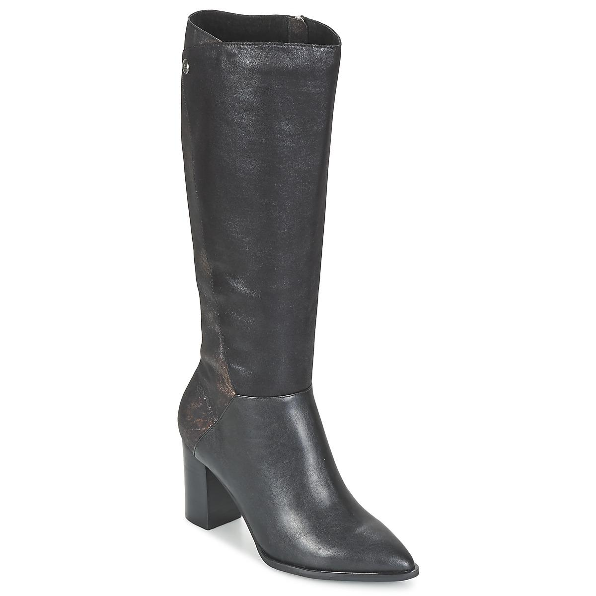 new arrivals 79a8e 3b025 les-ptites-bombes-black-Jersey-Womens-High-Boots-In-Black.jpeg
