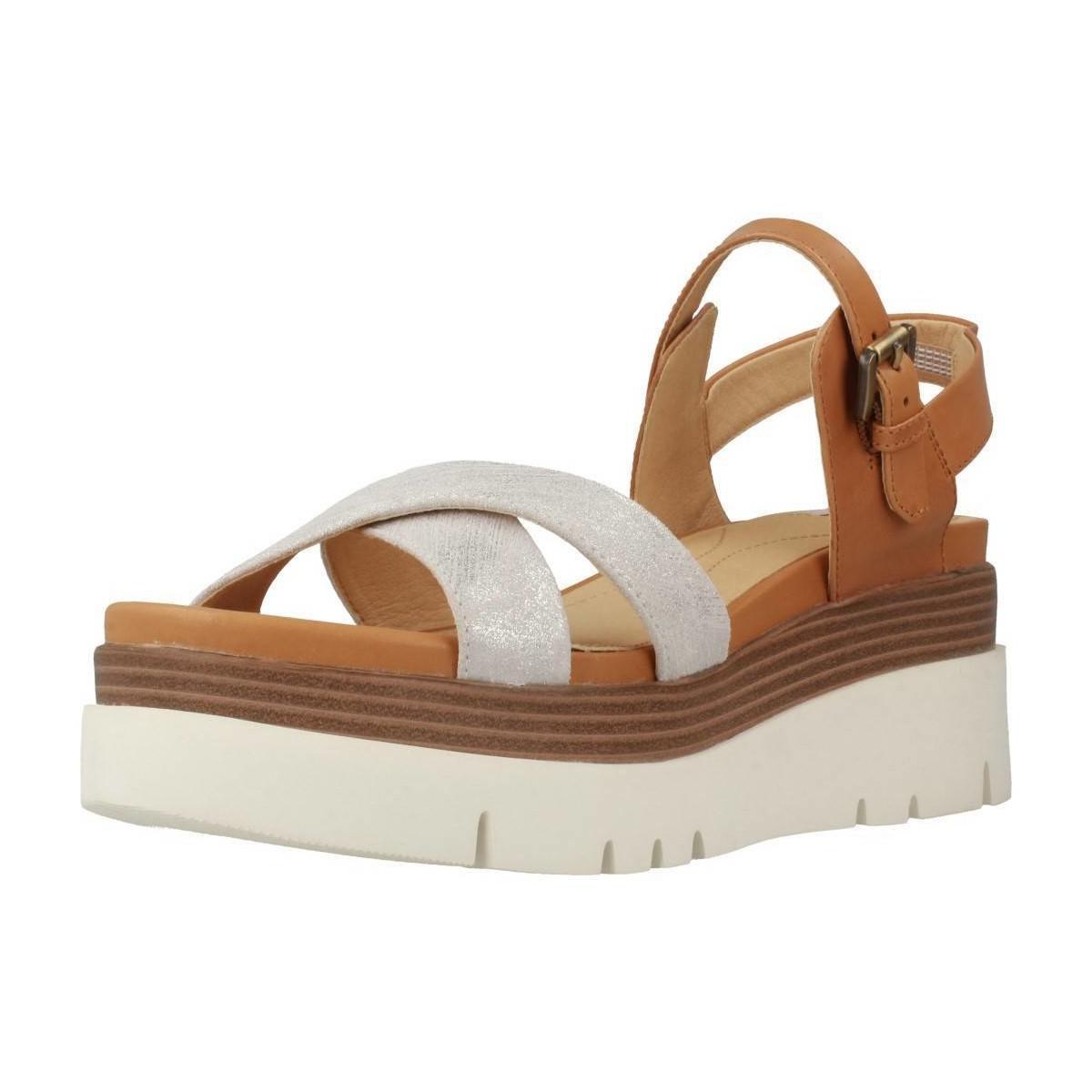 Geox D Radwa Women s Sandals In Brown in Brown - Lyst 2090daaefa3