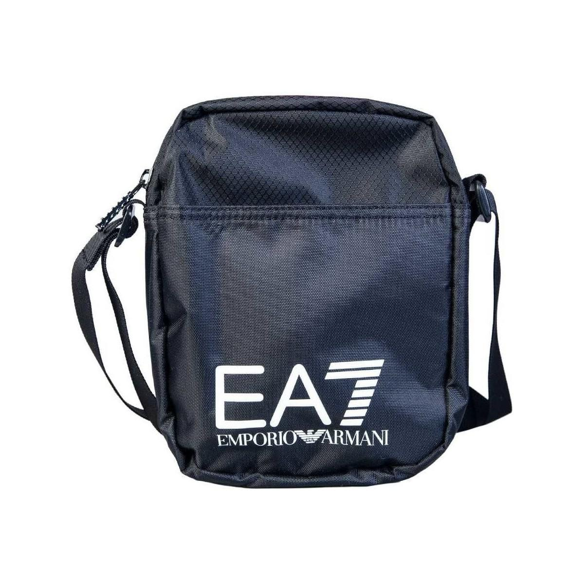 121dfccf68 Ea7 Messenger Bag 275658 Cc731 Men s Messenger Bag In Black in Black ...