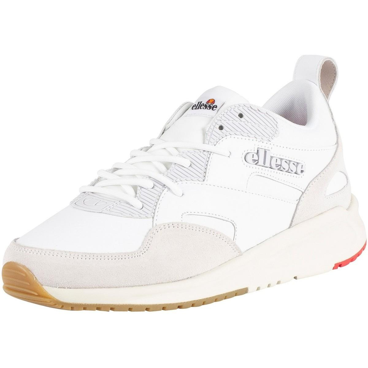 new concept aaddb 9e93f Ellesse. Mens Potenza Leather Trainers ...