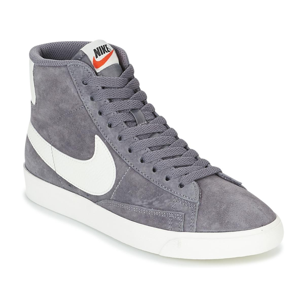 Nike Blazer Mid Suede Vintage W Women s Shoes (high-top Trainers) In ... 74cc17c3f1