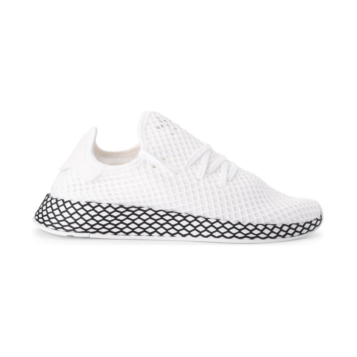 super popular d24f6 a79e0 adidas. Deerupt White Mesh ...