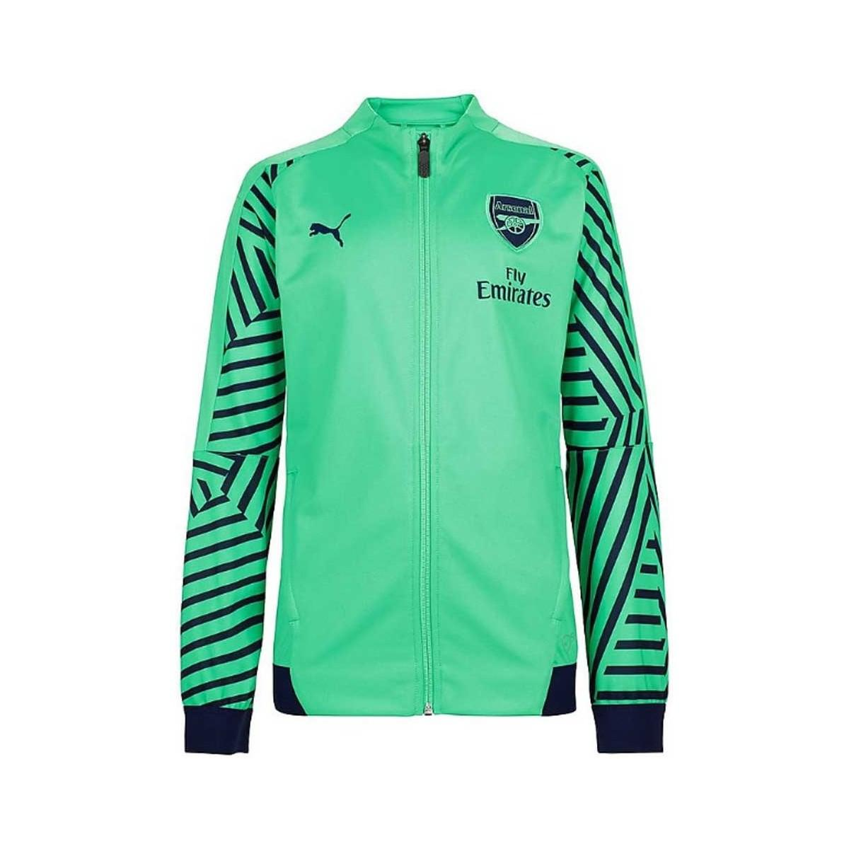 805ff159709c PUMA 2018-2019 Arsenal Stadium Jacket Men s Tracksuit Jacket In ...
