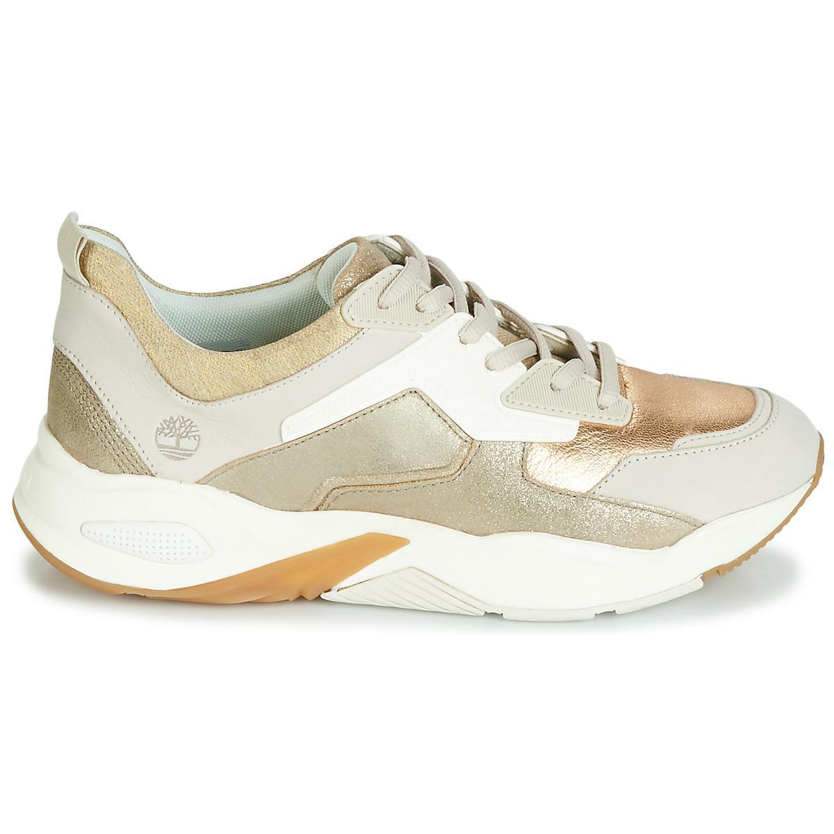 ShoestrainersIn Women's Delphiville Leather Sneaker Timberland sQrChxdt