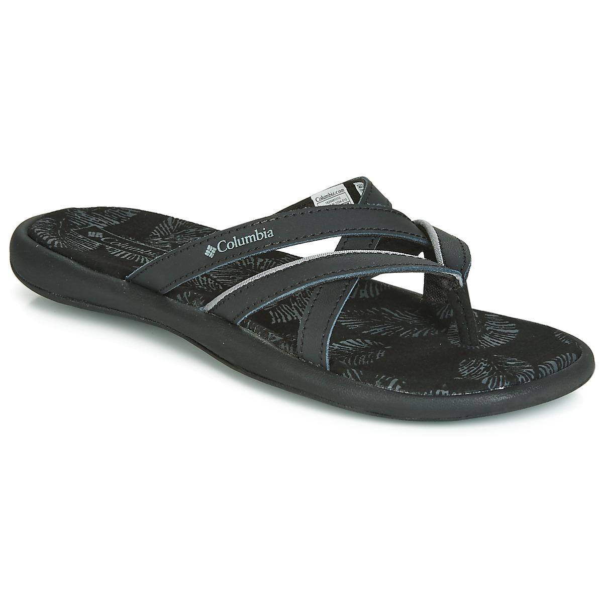 04fa0ff15039 Columbia - Kambi Ii Women s Flip Flops   Sandals (shoes) In Black - Lyst.  View fullscreen