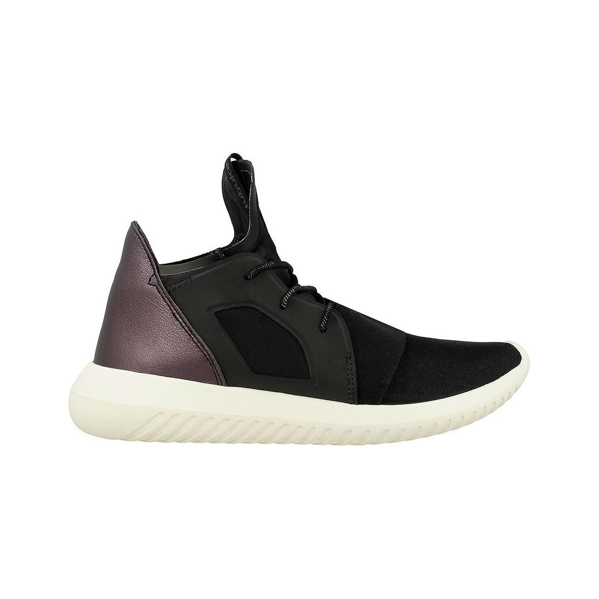 4a2715513260 Adidas Tubular Defiant W Women s Shoes (trainers) In Black in Black ...