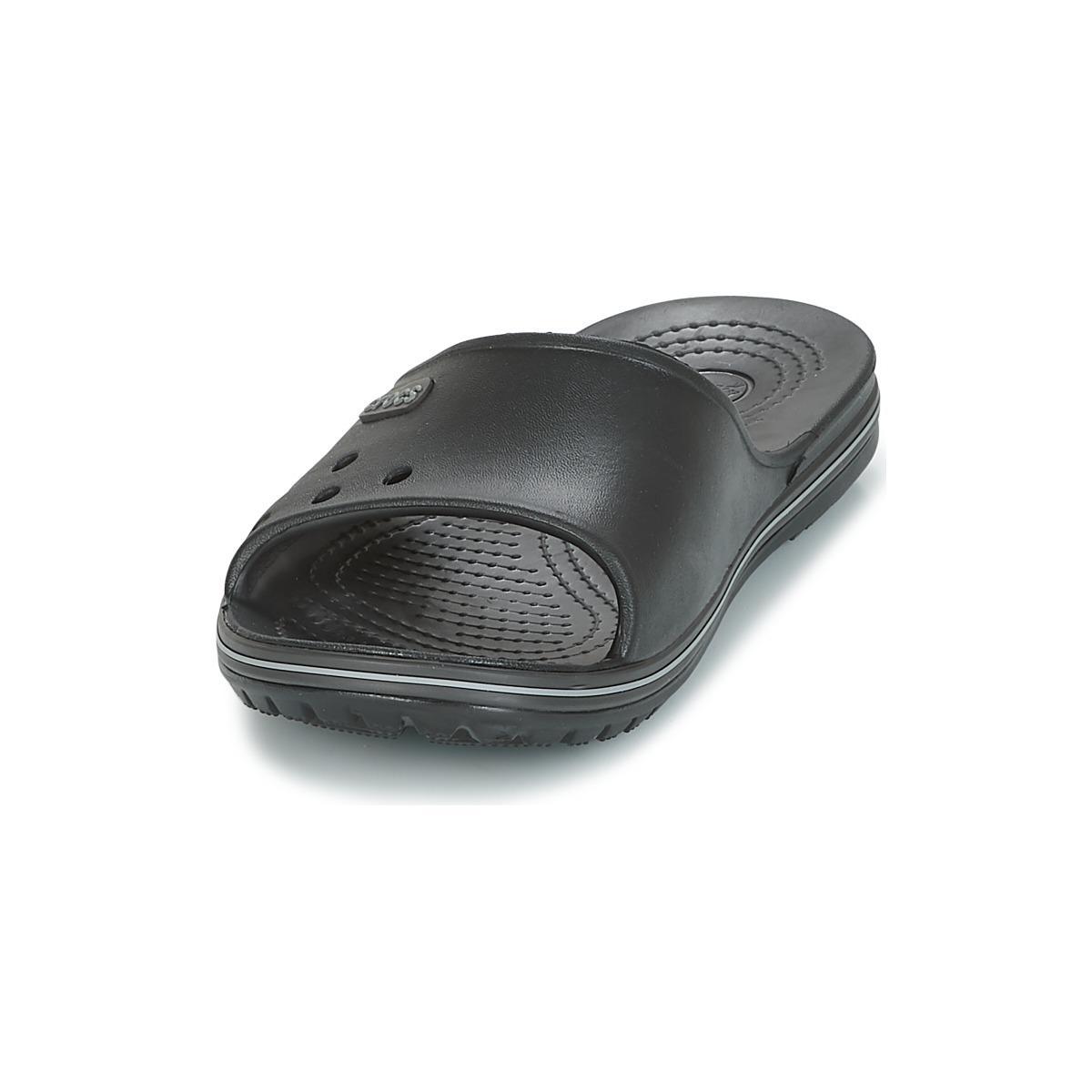 419306c18b65 Crocs™ - Crocband Ii Slide Men s Sandals In Black for Men - Lyst. View  fullscreen