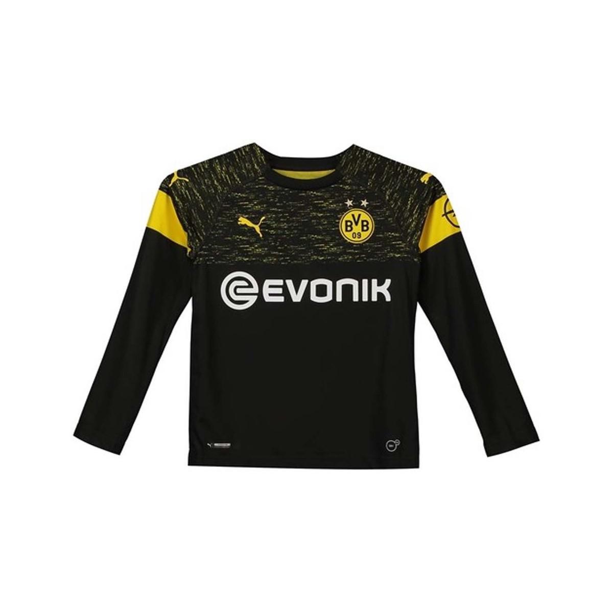 348e79e9e7400 PUMA 2018-2019 Borussia Dortmund Long Sleeve Away Shirt (kids ...