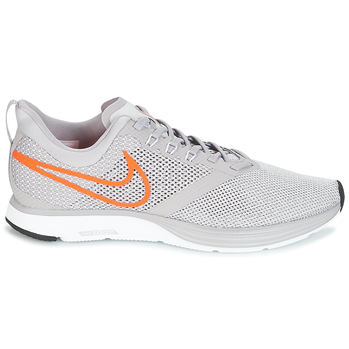 6bd3430827c1b0 Nike - Gray Zoom Strike Running Trainers for Men - Lyst. View fullscreen