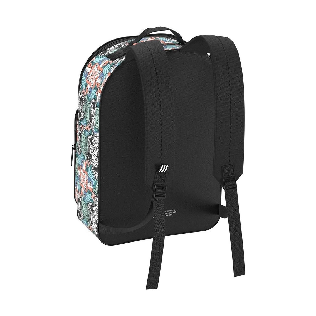 6f2cf3902f adidas Originals Classic Bp Animal Youth Women s Backpack In White ...