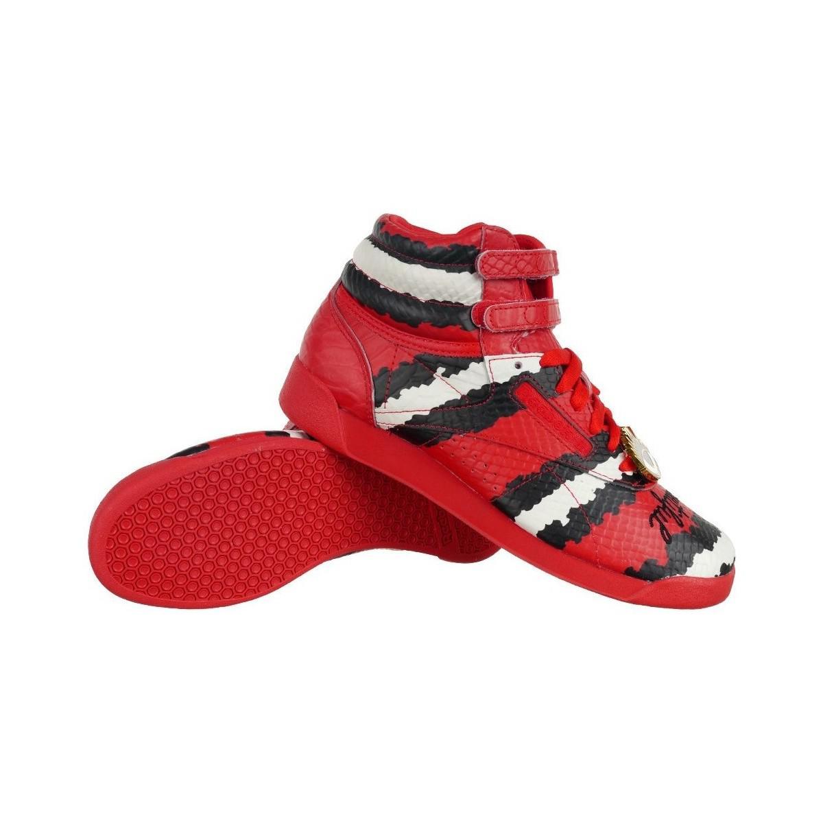 7ebede0c869 Reebok Classic Freestyle Hi Melody Ehsani Za Women s Shoes (high-top ...